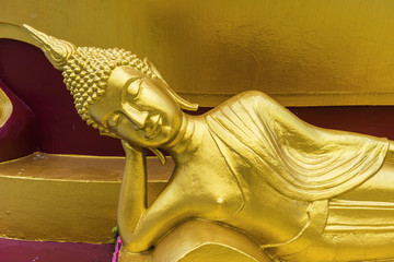 Figur am Big Buddha - Tempel auf Koh Samui in Thailand
