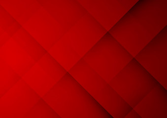 Abstract red geometric vector background, can be used for cover design, poster, advertising.