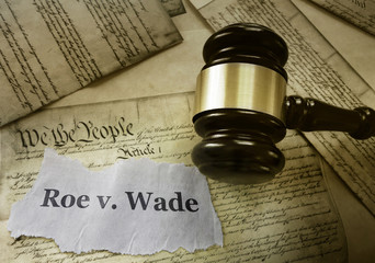 Poster Ree Roe v Wade constitution