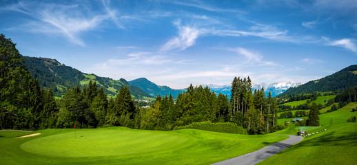 Golf course in the Mountains  - Kitzbuhel Austria