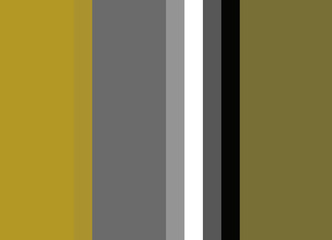 Striped background in shades of gold, bronze, and gray with black and white accents, vertical stripes, color palette background