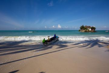 zanzibar, turquoise sea, unique nature, paradise island.