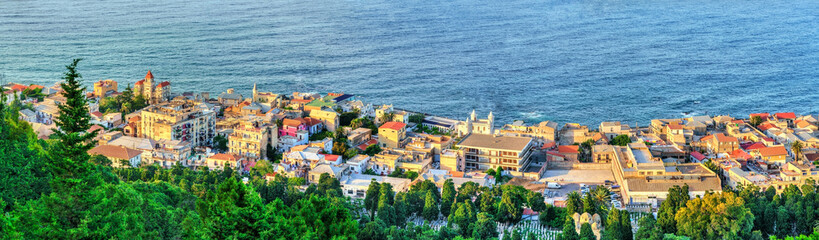 Aerial view of Algiers, the capital of Algeria