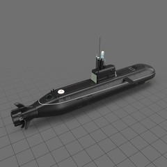 Small submarine