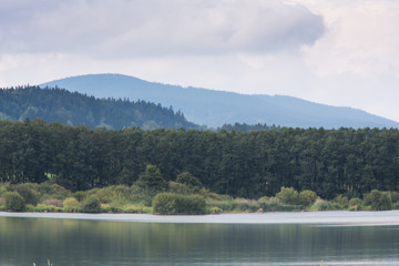Lake Lipno, South Bohemia, Czech Republic