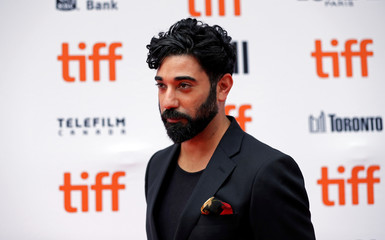 """Actor Ray Panthaki arrives for the Canadian premiere of the movie """"Colette"""" at the Toronto International Film Festival in Toronto"""