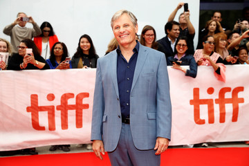 Mortensen arrives at the premiere of Green Book at the Toronto International Film Festival in Toronto