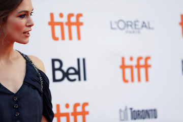 """Actor Keira Knightley arrives for the Canadian premiere of the movie """"Colette"""" at the Toronto International Film Festival in Toronto"""