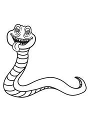 schlange gesicht kopf monster böse gefährlich lachen clipart comic cartoon