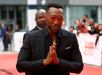 Ali arrives at the premiere of Green Book at the Toronto International Film Festival in Toronto
