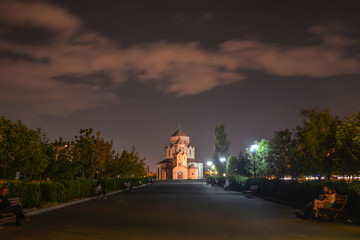 The Holy Trinity Church in Yerevan, Armenia