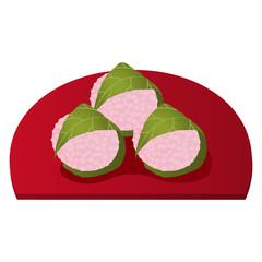 関西の桜餅