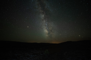 The Milky Way on a New Moon in Colorado