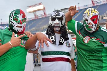 Soccer: International Friendly Soccer-Mexico at USA