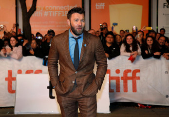 """Actor Joel Edgerton arrives for the premiere of the movie """"Boy Erased"""" at the Toronto International Film Festival in Toronto"""
