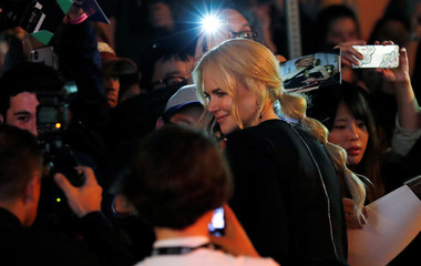 """Actor Nicole Kidman arrives for the premiere of the movie """"Boy Erased"""" at the Toronto International Film Festival in Toronto"""