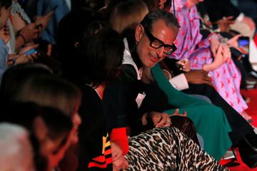 Actor Jeff Goldblum attends the Calvin Klein Spring/Summer 2019 collection presentation at New York Fashion Week, New York