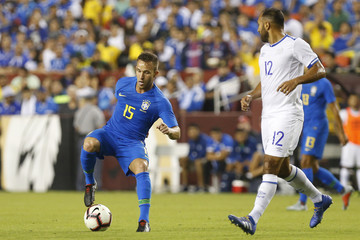 Soccer: International Friendly Soccer-El Salvador at Brazil