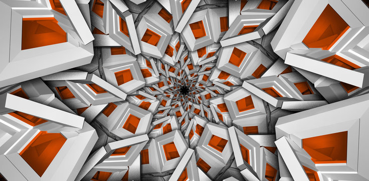 royal abstract colorful background orange dmt trippy concept