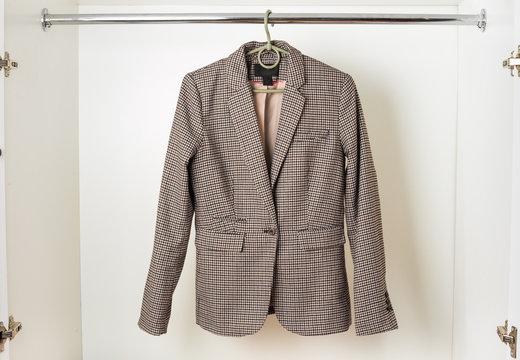 Women's classic English-style jacket