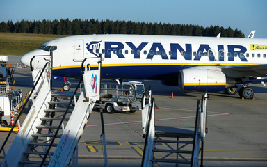 Ryanair pilots and cabin crew stage a 24-hour strike in Germany