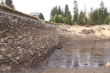 Odersee Staumauer 1