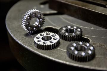 歯車の加工