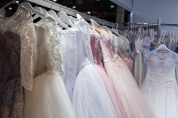 Beautiful wedding and evening dresses.