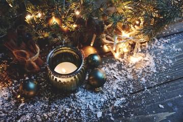 Weihnachtsstimmung - Kerzen und Lichter zur Weihnachtszeit