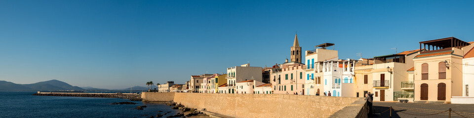 Alghero in good weather