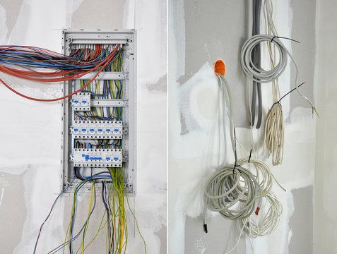 Elektriker, Stromkasten