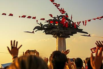 celebrations of liberation day of izmir