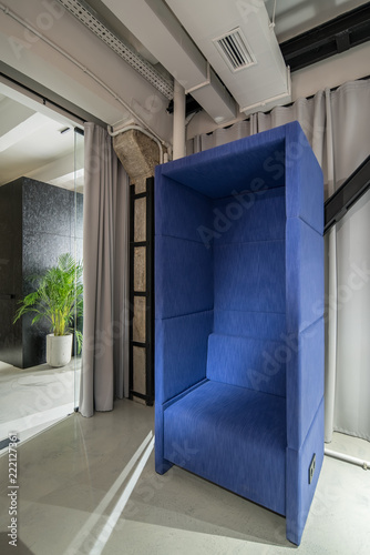 Stylish Office In Loft Style With Relax Zone