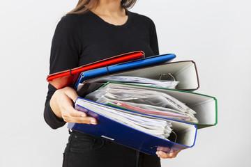 Fototapeta biuro i dokumenty