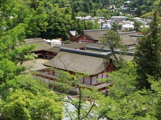 厳島神社境内 広島県 日本