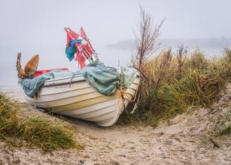 Ostsee - Schönbergerstrand - Fischerboot - Im Nebel