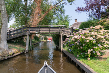 The Canals of Giethoorn, Netherlands