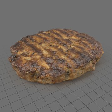 Beefburger patty