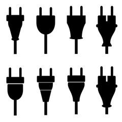 Stecker Set Sammlung Icons