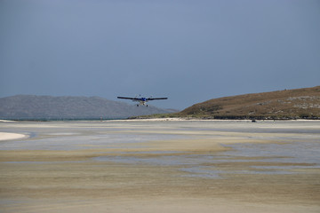 Strand Flughafen von Barra, Äußere Hebriden