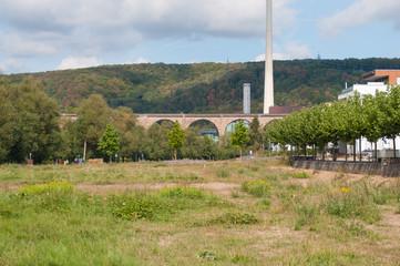 Eisenbahnviadukt über die Ruhr bei Herdecke