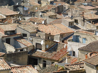 The roofs of Sommières