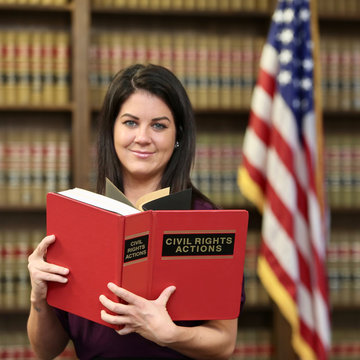 Woman attorney in law office, women in politics, woman's rights