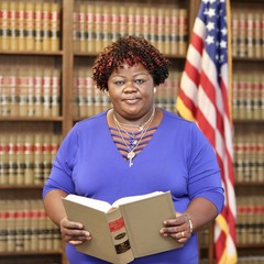Woman lawyer, women in government,  African American law professor