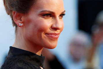 """Actor Hilary Swank arrives for the international premiere of """"What They Had"""" at the Toronto International Film Festival in Toronto"""