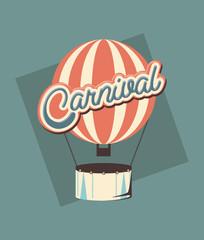 carnival hot air balloon