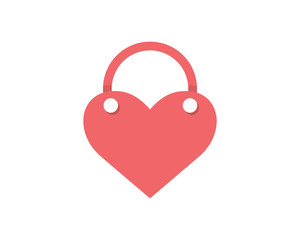 heart love valentine amour romance romantic lover image vector icon logo symbol