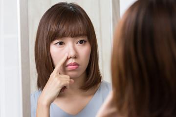 鏡・鼻のスキンケア