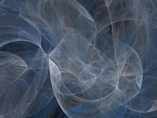 Futuristic digital 3d design art abstract background fractal illustration for meditation and decoration wallpaper