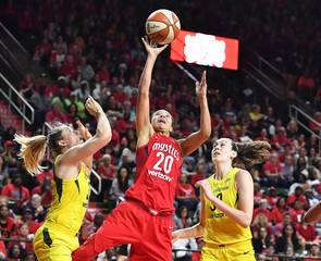WNBA: Finals-Seattle Storm at Washington Mystics